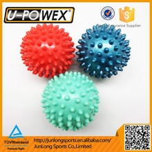 PVC hand Small inflatable spiky Massage Ball