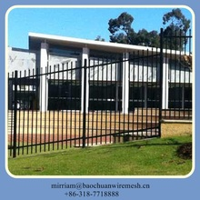 Front Yard to Courtyard steel fence on sales