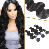 wonderful and easy to wash to take care Peruvian body wave human hair extentions