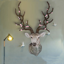 Resin Modern Decoration Deer Head Figurine