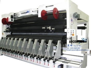 jumbo roll slitting machine for li battery separator film