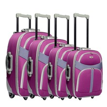 Top sale polyester /eva trolley luggage alibaba wholesale