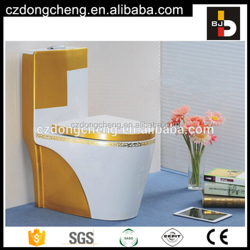 Washdown s-trap 250 4inch outlet ceramic color toilet