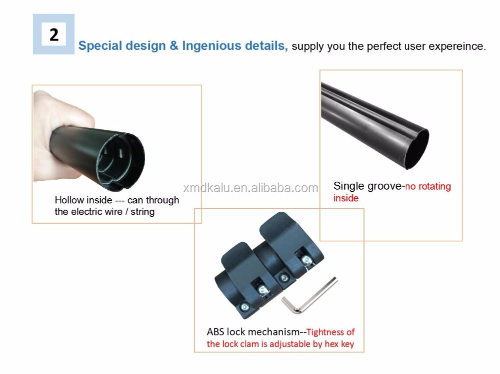 Customized Telescopic Pole/Telescopic Tube/Telescopic Rod