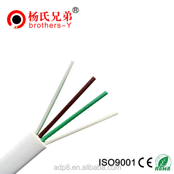 Flat Telephone Cable 4 Core 6 Core 8 Core