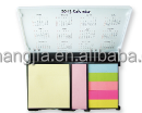 Contemporary promotional printed memo pad cube