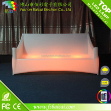 2016 furniture living room led furniture hot sale three people sofa