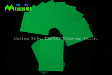 Glow in dark board/Yellow-green luminous sheet
