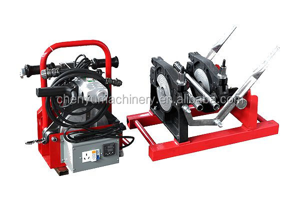 63-200mm hdpe pipe manual butt fusion welding machine