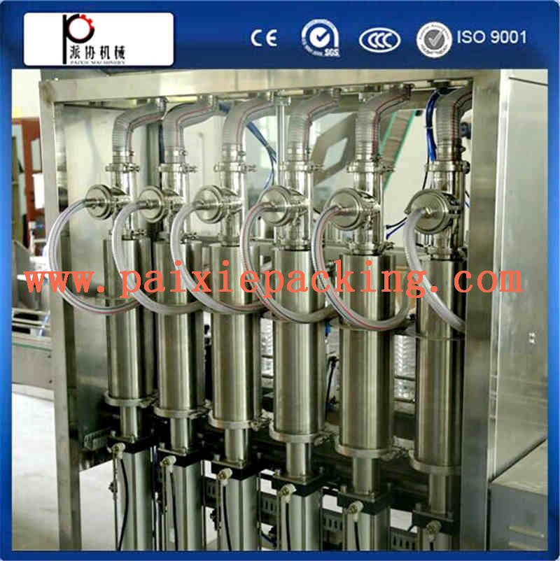 Automatic Edible sunflower oil filling machine / cooking oil production line