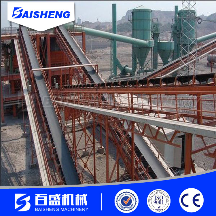 Baisheng heat resistant rubber conveyor belt for container
