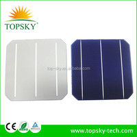 A grade 19.4% Highest eficiency 4.64W 156mm Monocrystalline Solar Cell