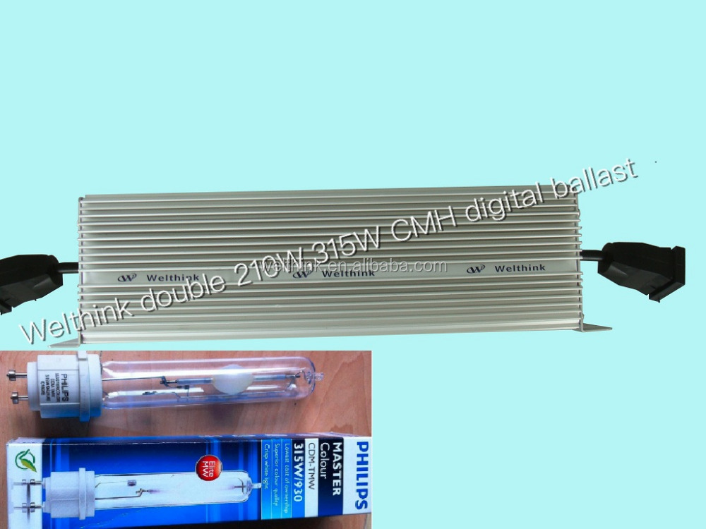 Professional manufacturer, for Philips Elite Agro 315W CMH Lamp,Dual 420W, 630W CMH Digital Ballast with Low frequency soft star