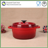 kitchen equipments casted iron big casserole multi cooking die casting aluminum cookware