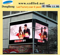 Shenzhen SMD full color P8 outdoor led display for advertising ce rohs approved