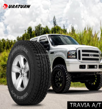 Duraturn SUV mud tire all terrain 4x4 tyre AT LT245/75R17 llantas de auto for america sur