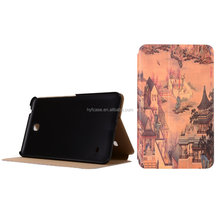 8 Inch Ultra SlimTablet PC smart cover Leather Cases For Samsung Galaxy Tab4 T330
