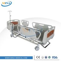 MINA-EB3701 CE ISO approved electric hospital bed specifications