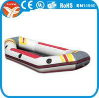 Inflatable sailing boat
