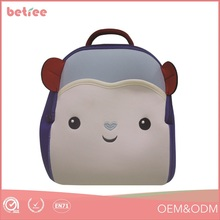 high quality pretty cute animal kid school backpack for toddler