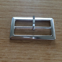 Custom Hardware Square Buckle Metal Adjustable belt Buckle For Lady Handbag Accessories factory