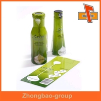 Personalized Creative Full Body Shrink Sleeves Labels for food container