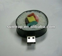 1GB,2GB different food sushi meat promotion gift usb flash drive/pendrive/stick/flash memory