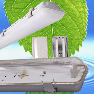 high lumen 24v tri-proof led light double tube 24v tri-proof led light 36w 24v tri-proof led light