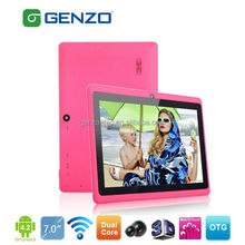Newest Allwinner A23 cheap dual core cpu tablet pc with high quality