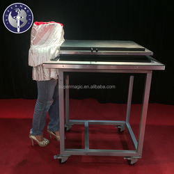 B009 Super stage props table and half a person stage magic illusions