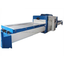 double station vacuum membrane press machine for door laminating with pvc veneer (two tables)