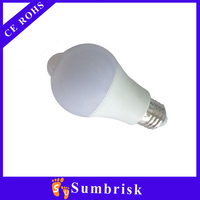 China supplier energy save led sensor light bulb 2 year warranty
