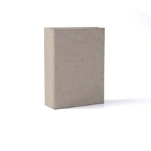 Best Seller Linen Cover Ivory White 100 pieces Photo Album for Gift