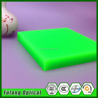 2016 Green Plastic Laser Engraving Color Acrylic Sheet/Bpard Flexible 18Mm Clear Acrylic Board