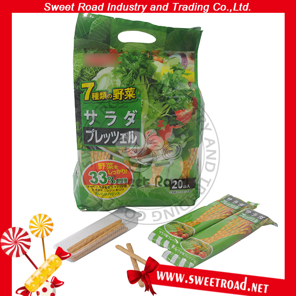 Tomato/Potato/Vegetable Stick Crispy Biscuit in Bags