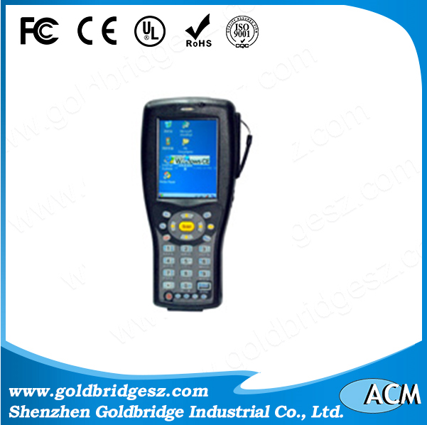 UHF Handheld Reader with WIFI GPRS and Laser Barcode Scanner
