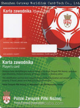 High quality TK4100 PVC plastic id cards new models