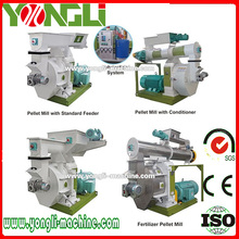 Long service time ring die style wood pellet maker mill machine 5 tons per hour YONGLI BRAND