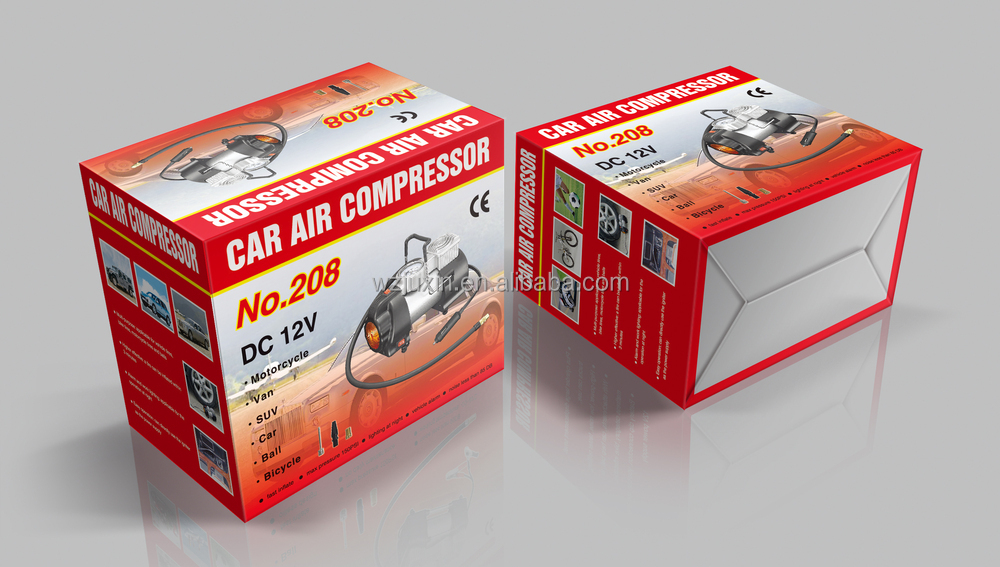 Car with brIght light Air Compressor