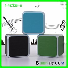 Unique design cube 5W supper bass mini beats audio bluetooth speaker