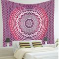 New Summer Large 100% Cotton Printed Round Beach Towels With Tassel Circle Beach Towel Serviette De Plage Reactive Printing