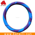 Wholesale car accessories Custom Durable Soft Heat resistant Silicone bus/car steering wheel cover