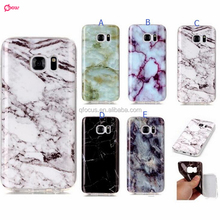 High quality marble Stone Pattern TPU soft silicone phone case cover for Samsung Galaxy s6