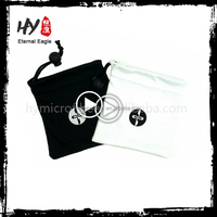 Multifunctional soft spring top snap closure eyeglass case with high quality
