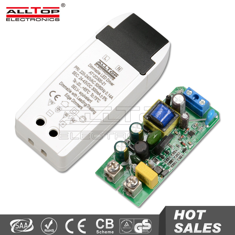 12w 300ma triac dimmable constant current led driver