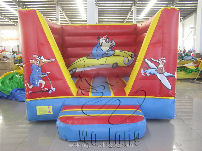 Durable fun city, inflatable bouncer equipment for adult and kids