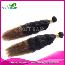 Soft hair products cheap high quality loose deep wave 1b 6 two tone color ombre types brazilian hair