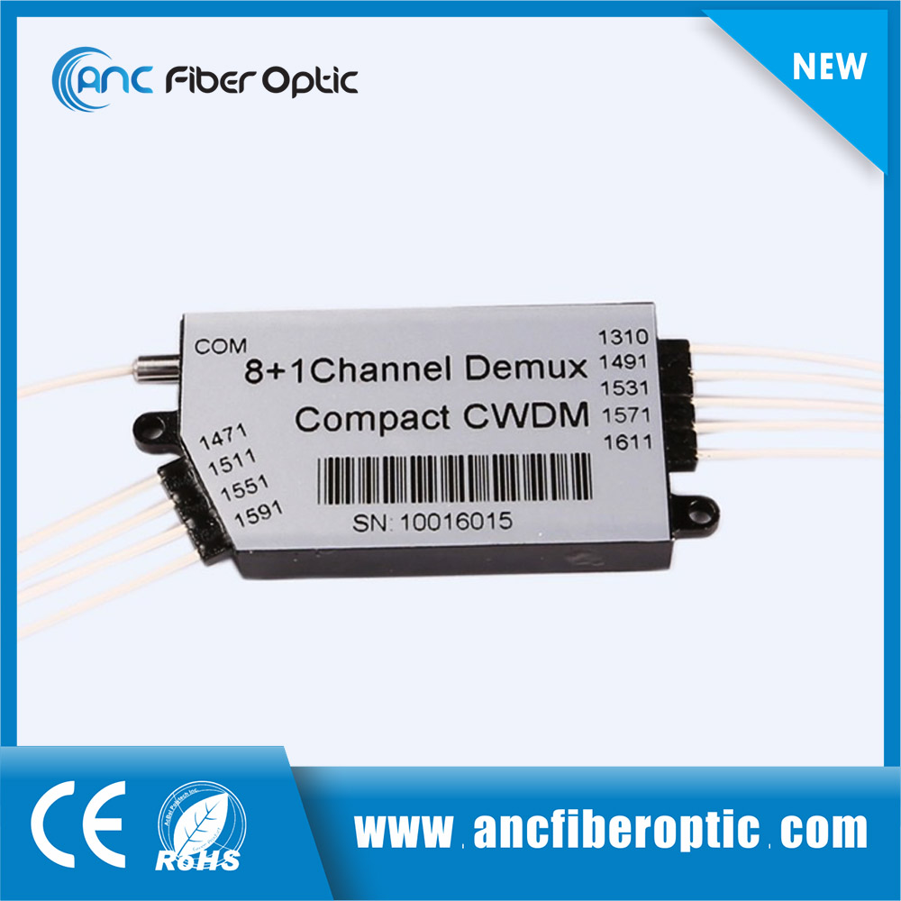 Professional production inexpensive products optic fiber multiplexer compact cwdm