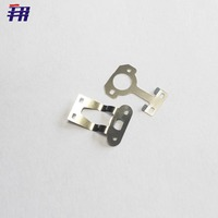 high precision stamping small metal flat clips,small strong metal clip