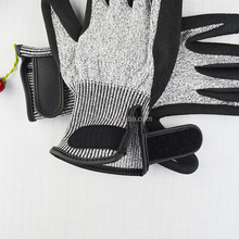 High quality Black Rubber gloves cut resistant gloves